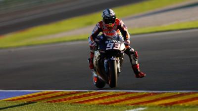 Marquez subito protagonista nel day2 di Valencia