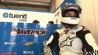 Viñales y Salom debutan en Moto2™ en el Test de Jerez