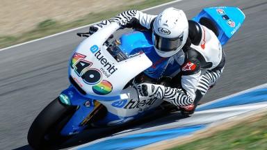 Moto3™クラスのチャンピオン&ランク2位がチャンピオンチームからテストデビュー