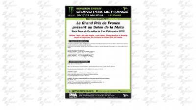 Le Grand Prix de France présent au Salon de la Moto de Paris