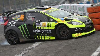 Rossi runner-up in Monza Rally Show