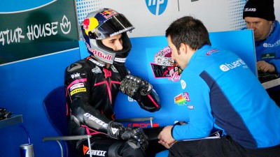 Successful wrist operation for Luis Salom