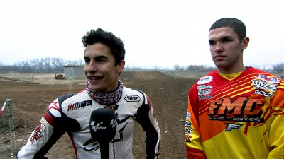 Marquez to take on USA dirt track star