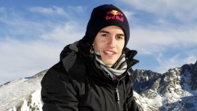 M.マルケスが四輪アイスレースに参加