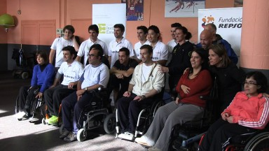 Marquez assists people with limited mobility