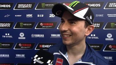 Lorenzo: 'Estoy más contento que ayer'
