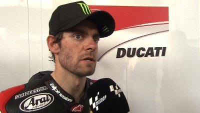 Jump in lap time pleases Crutchlow