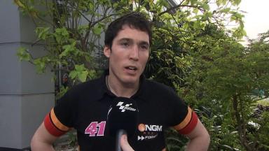 Aleix Espargaró tra i top rider a Sepang