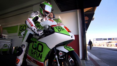 Antonelli remains on top in Valencia