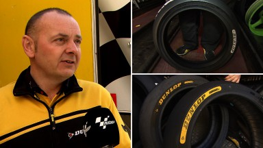 Dunlop introduces colour markings for tyres
