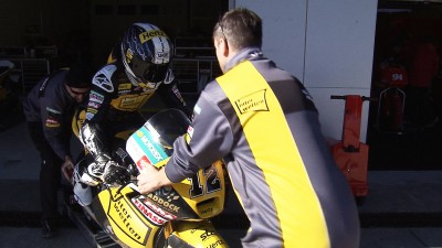 Luthi fastest as Jerez test continues