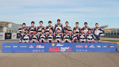 シェルアドバンス・アジア・タレント・カップ、デビューシーズンに向けて4日間のテストを終了