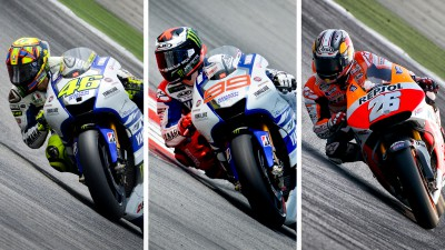 Testing continues without World Champion Marquez