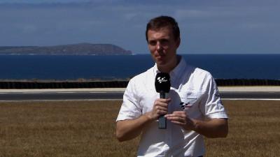 Test para los equipos oficiales en Phillip Island