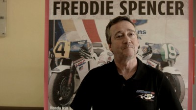 Freddie Spencer, en Valencia para participar en Classics  and Legends