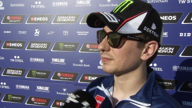 Lorenzo hails improvement in tyre performance