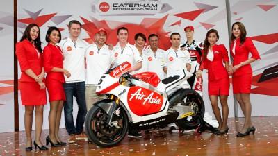 Caterham se asocia con AirAsia para su debut en Moto2™
