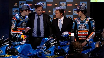 Rins and Marquez present 2014 project