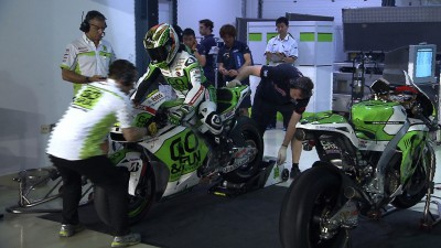 Bautista shows his pace in Saturday Qatar testing
