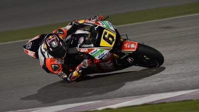 Bradl second and looking to overcome rear grip problems