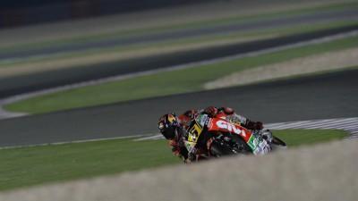 Bradl, cuarto mejor tiempo en Qatar tras sumar dos caídas