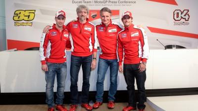 Ducati Team 2014 project presented at Munich's Audi Forum