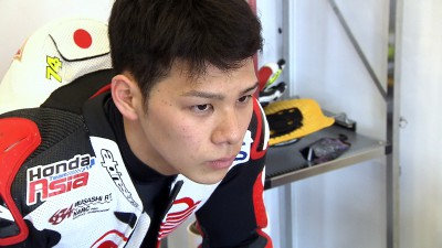 Nakagami leads as final test begins