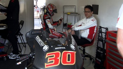 Nakagami faster still as Moto2™ testing ends