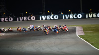 Intriguing competition in thrilling Moto3™ class
