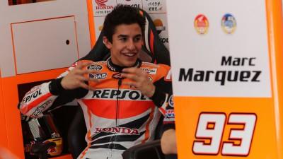 Márquez : « Je ne m'attends pas à être à 100% au Qatar »