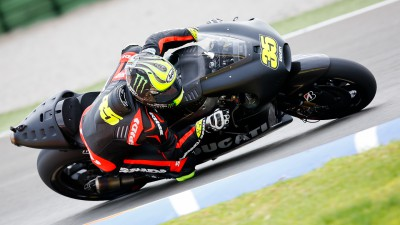 Crutchlow on verge of Ducati debut in desert