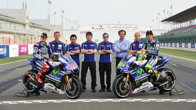 モビスター・ヤマハ・MotoGPがカラーリングを発表