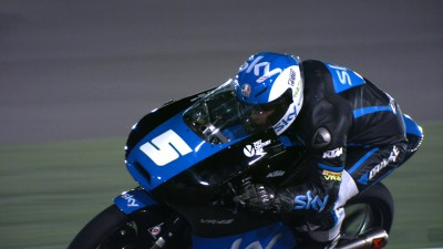 Fenati fastest on first day at Losail