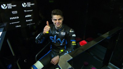 Fenati quickest again in lightweight class on day two