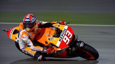 Márquez se destapa en la Q2 de Qatar y se lleva la pole position