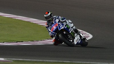 Lorenzo makes improvements to qualify on second row