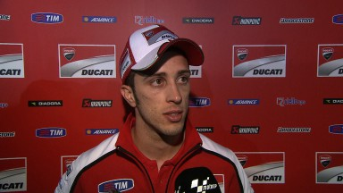 Fifth and sixth for Dovizioso and Crutchlow