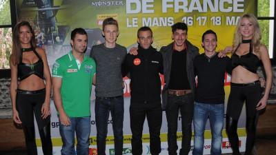 Présentation du Monster Energy Grand Prix de France