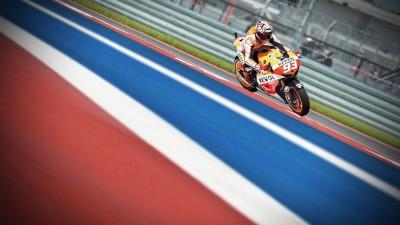 Márquez, la referencia de MotoGP™ en la cita de Texas
