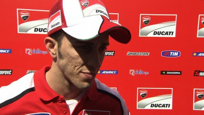 Differing Friday fortunes for Ducati pair