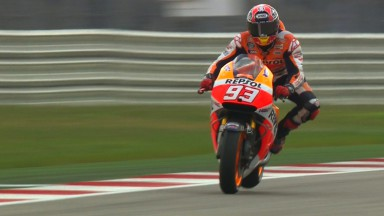 Marquez on pole for second race of the year