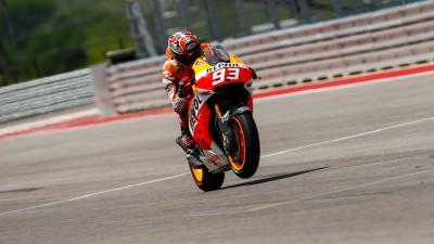 Marquez quickest yet again ahead of racing