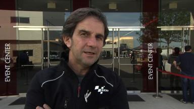 Suzuki à Austin pour préparer son retour en MotoGP™ Factory pour 2015