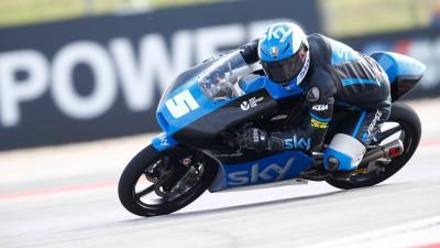 Le due facce della medaglia per l'Italia in Moto3™