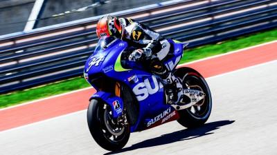 Schwantz joins Suzuki MotoGP test in Austin
