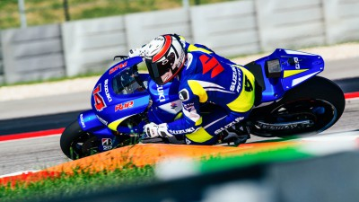 Suzuki beendet Test-Session in Austin