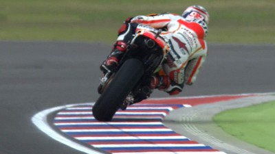 Marquez dominates second practice in Argentina