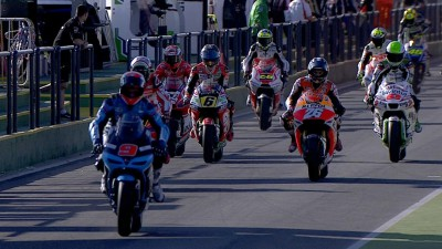 Marquez wieder Schnellster in Termas de Rio Hondo