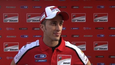 'Tough race' for Dovizioso and Pirro