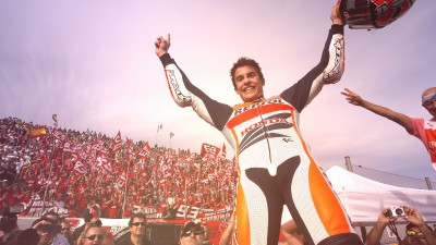 A century of Grand Prix appearances for Marquez